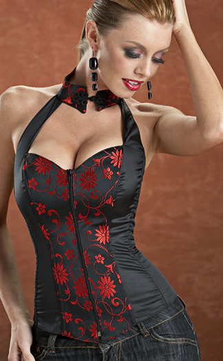 Alisa Collared Corset - 10% off