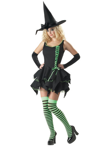 Deluxe Black Magic Witch Costume