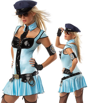 Sexy & Cool Traffic Police Officer Outfit