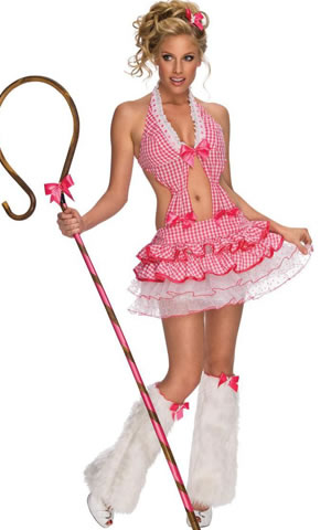 Sweet Gingham Candy Girl Costume