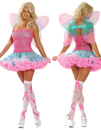 Halloween Pinkish Fairy Costume