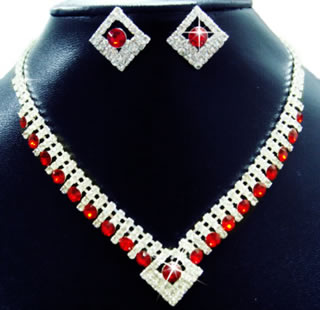 Contemporary Rhinestone Fashion Jewelry
